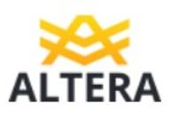 Логотип автосалона Альтера Авто
